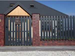Забор-жалюзи: цена за секцию, размеры - купить забор-жалюзи в ... | 224x300